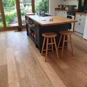 190mm x 15mm Treated with Woca Oil